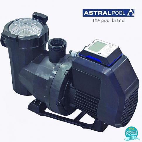 Pompa Astral Pool Victoria Plus Silent cu viteza variabila, 1 HP, debit 8.2 / 12.4 / 16.7 mc/h