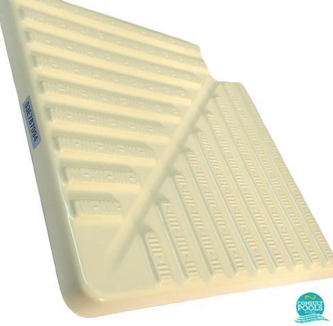Profil gratar piscina colturi bej 195 mm  00225CL90195