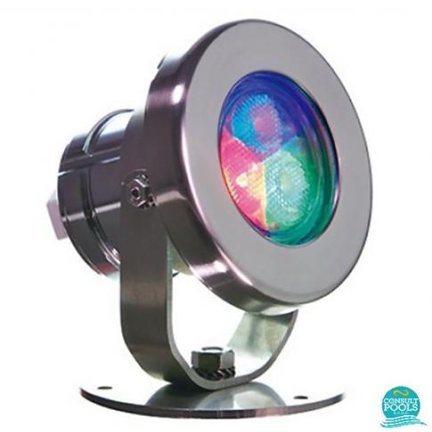 Proiector MINI led RGB-DMX, 186 lm, 6 W, pentru fantani Astral Pool