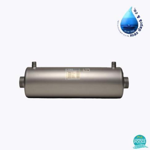 Schimbator de caldura 100 % titan Max Dapra 42 kw, 36.120 kcal/h