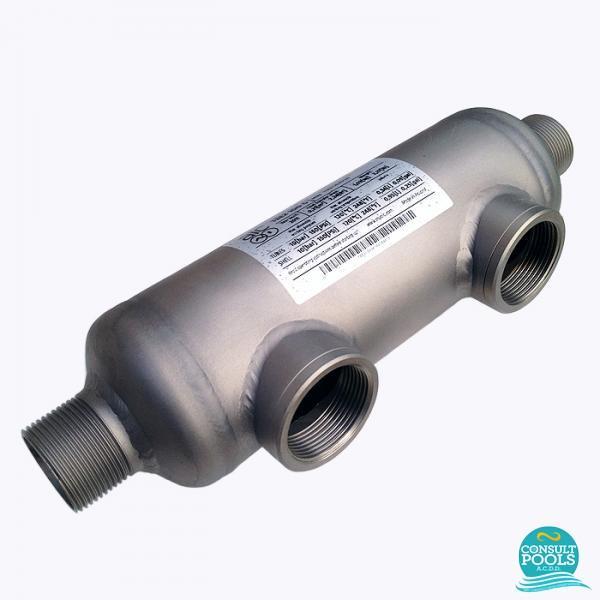 Schimbator de caldura titan piscina AIC 57 KW