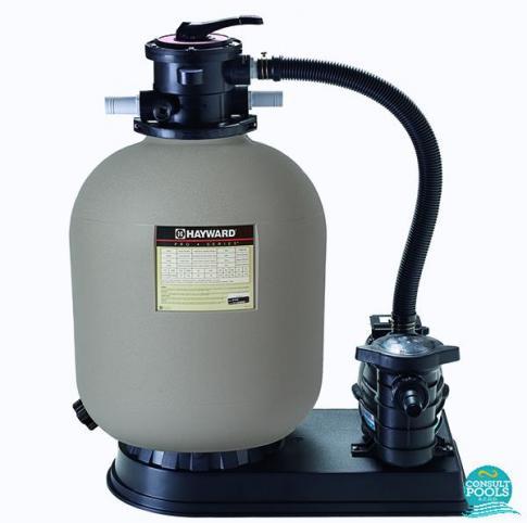 Sistem filtrare compact Hayward piscina volum 48 mc