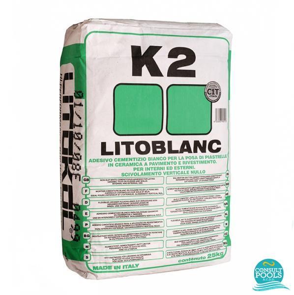 Adeziv placare mozaic Litoblank K2 25 kg