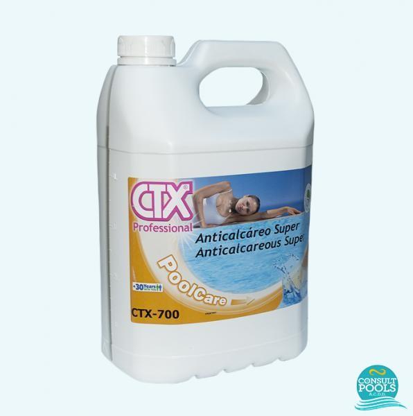 Anticalcar extra pentru apa piscina CTX 700 5l