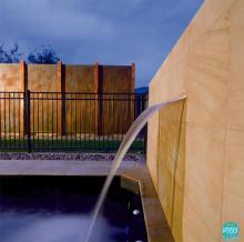 Cascada piscina abs SilkFlow, l 600 mm, debit  6 mc, AstralPool Spania