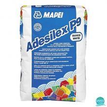 Adeziv gresie si faianta Mapei 25 kg/sac Adesilex P9 Alb