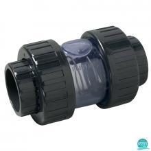 Clapeta de sens PVC U D50 transparenta