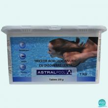 Clor lent tablete 250 gr, 86 %, Triclor AstralPool 1 kg