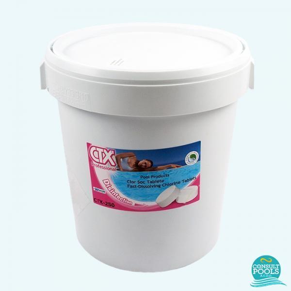 Clor rapid tablete CTX 250 -25 kg