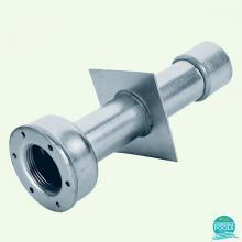 Conducta de perete inox AISI-304, liner, 240 mm, 1 1/2