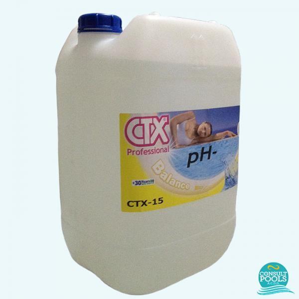 Corector ph minus lichid CTX15 22l