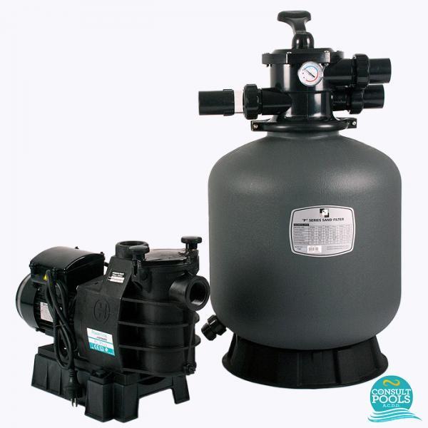 Kit echipament piscina volum 55 mc PH55
