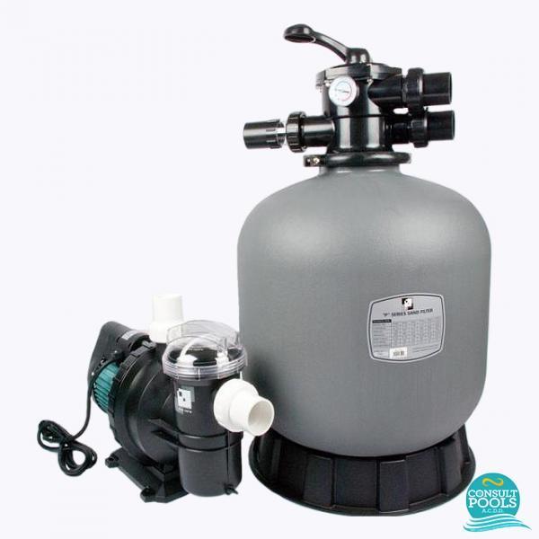 Kit echipament piscina volum 55 mc PZ55