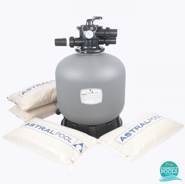 Kit filtru piscina debit 10 12 mc PZN1012