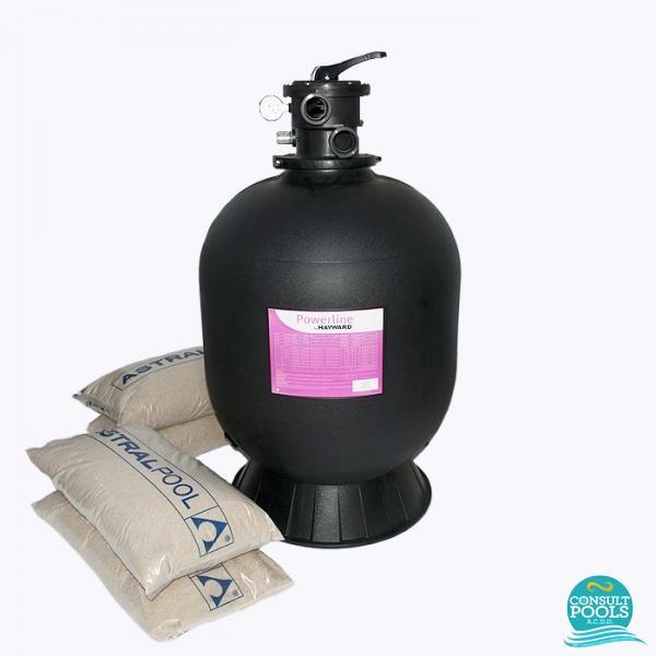 Kit filtru piscina debit 10 mc HYN10