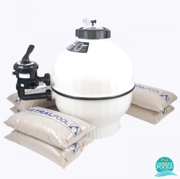 Kit filtru piscina debit 14 mc CSN14