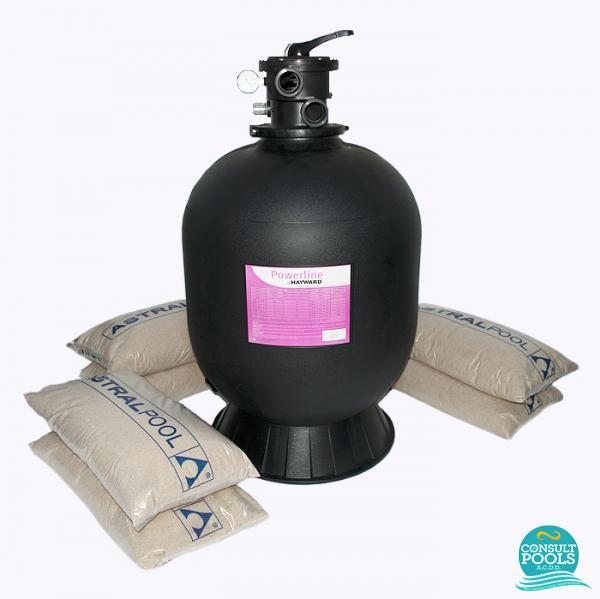 Kit filtru piscina debit 14 mc HYN14