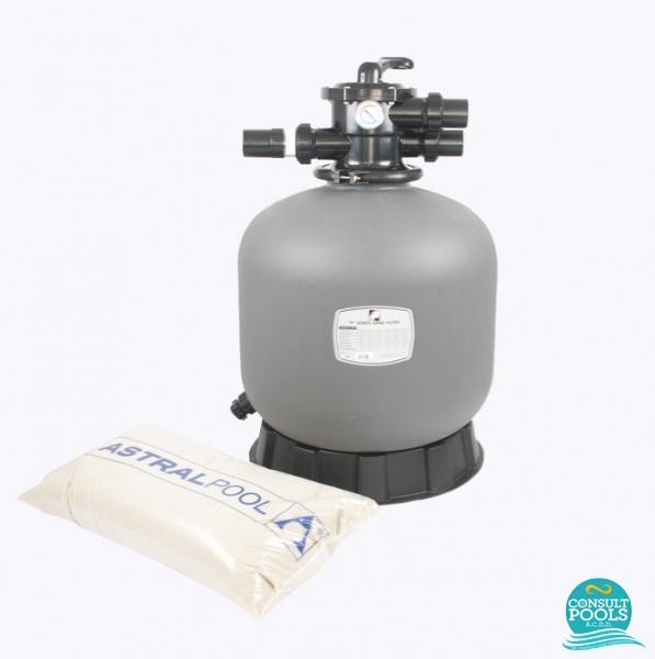 Kit filtru piscina debit 4 mc PZN4