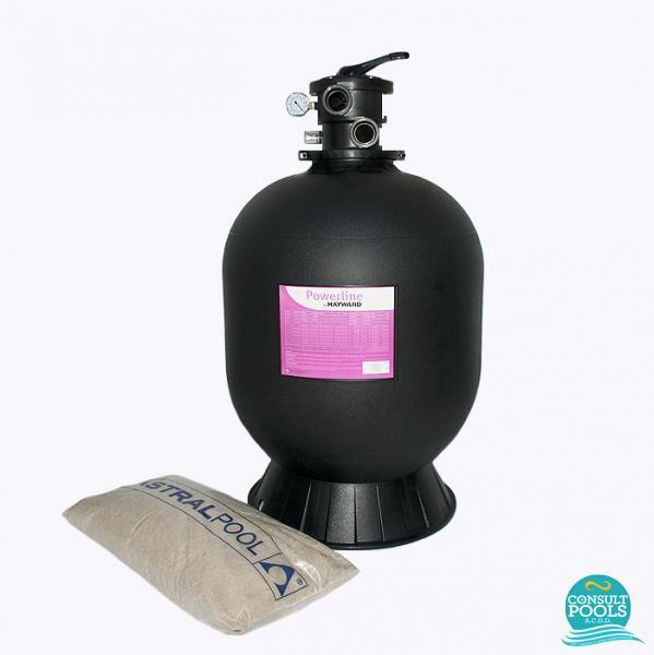 Kit filtru piscina debit 5 mc HYN5