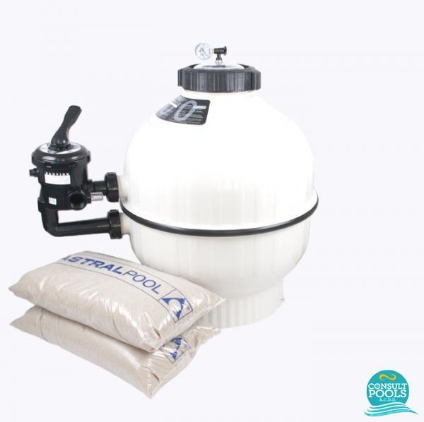 Kit filtru piscina debit 6 mc CSN6