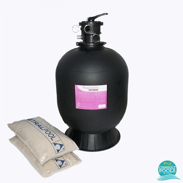 Kit filtru piscina debit 6 mc HYN6