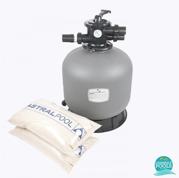 Kit filtru piscina debit 6 mc PZN6