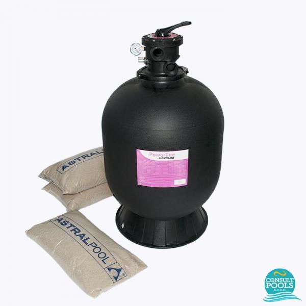 Kit filtru piscina debit 8 mc HYN8