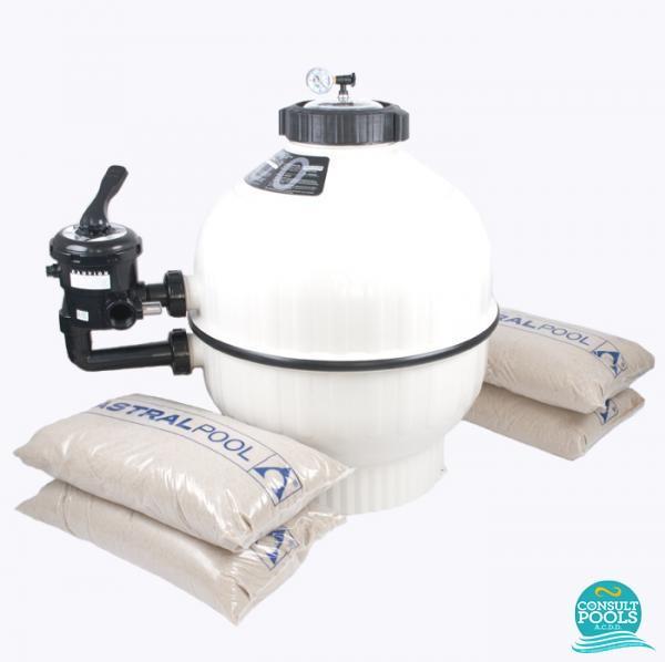 Kit filtru piscina debit 9 mc CSN9