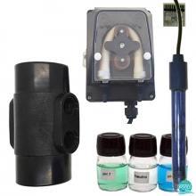 Kit PH cu pompa perisaltica 1.5 L/H pentru sisteme de electroliza Aquarite