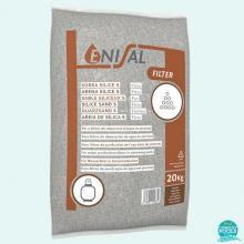 Nisip material filtrant pentru piscina granulometrie 0.5 - 1.0 mm Enisal