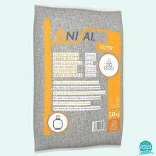 Nisip material filtrant pentru piscina granulometrie 2 - 4 mm Enisal