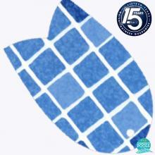 Membrana pvc liner antiderapant Mosaic Blue, 1.5 mm, 165 cm, armat, Germania