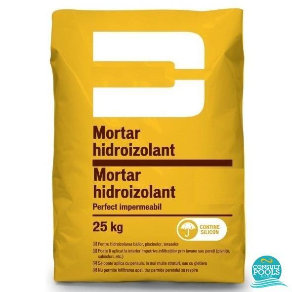 Mortar hidroizolant pentru piscine 25 kg