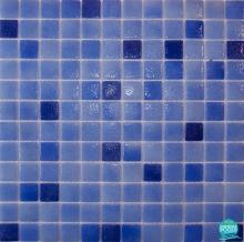Mozaic piscina mixt albastru  HVZ060