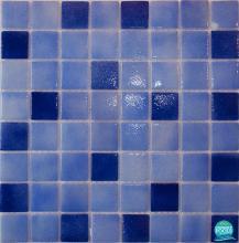 Mozaic piscina mixt albastru  HVZ184