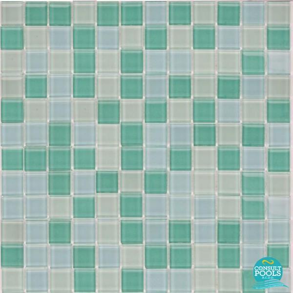 Mozaic piscina mixt verde Togama PC 2013