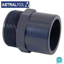 Niplu PVC U D 63 50 2