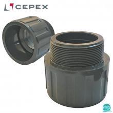 Niplu PVC U D75 2 1/2