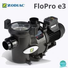 Pompa piscina Zodiac FloPro E3 16.3 mc/h, cu viteza variabila, 0.75 kw, 1.00 hp, 2850 rtm, 230 V