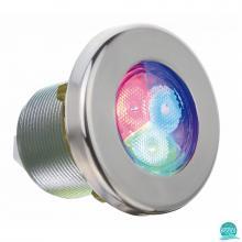 Proiector led RGB piscina Lumiplus Mini V2 4 W, 186 lumeni, rama inox Astral Pool