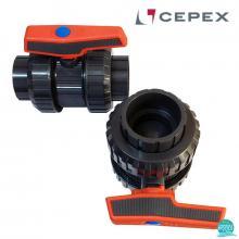 Robinet Cepex PVC U D75 cu bila