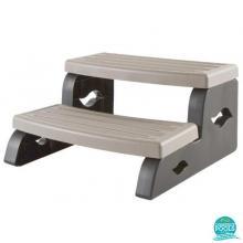 Scara spa model standard, 2 trepte, culoare Coastal grey, Astral Pool