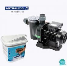 Set pompa piscina Sena 11.8 mc/h, plus clor rapid tablete 5 kg, Astral Pool