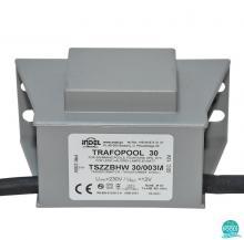 Transformator piscina 30W/30/003M, 230V/12V-2.5A, IP67, Indel Polonia (470030-003)