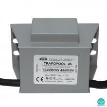 Transformator piscina 45W/003M, 230V/12V-3.75A, IP67, Indel Polonia (470045-003)