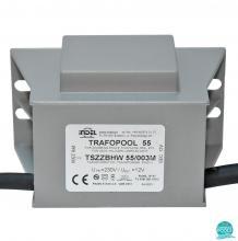 Transformator piscina 55W/003M, 230V/12V-4.58A, IP67, Indel Polonia (470055-003)