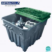Unitate filtrare Keops Cantabric 15783 plus Victoria 38774, volum 100 mc, debit 16 mc/h, 380 V, Astral Pool Spania