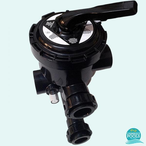 Vana multiport laterala pentru filtru piscina 3