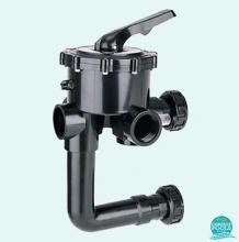 Vana multiport laterala  pentru filtru piscina 1 1/2